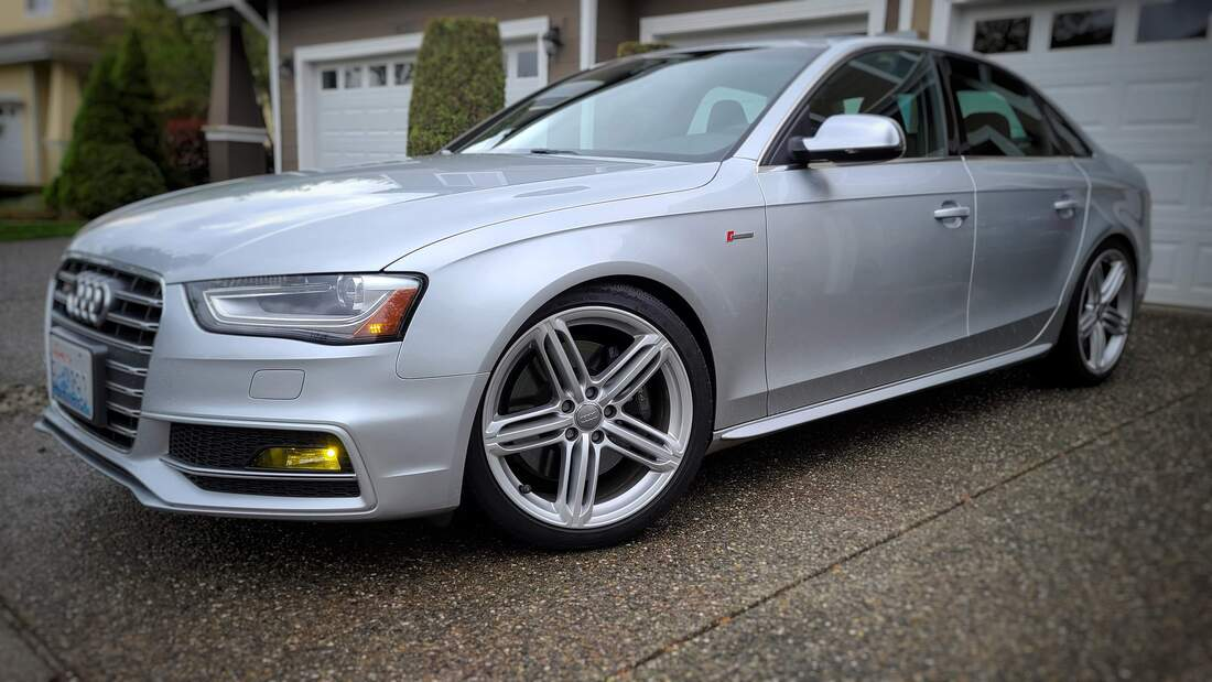 B8.5 Audi S4 (Silver) - Stage 2 EPL with Solo-Werks CoiloversPicture