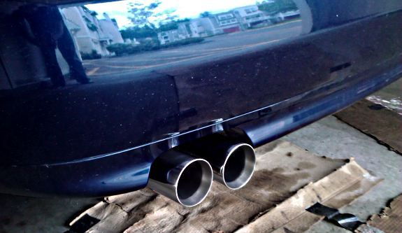 Custom Magnaflow 3inch Catback Exhaust On A 2001 Audi S4 27 Biturbo: 2001 Audi S4 Exhaust System At Woreks.co