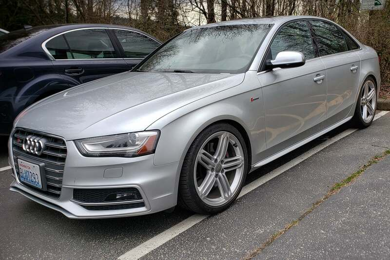 Audi B8.5 S4 Coilovers Solo Werks
